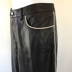 Ralph Lauren Leather 5 Pocket Jean